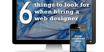 Six things to look for when hiring a web designer